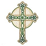 Roman Gifts Celtic Irish Wall Cross