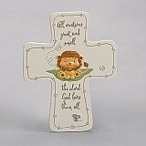 Roman Inc 7 inch All Creatures Great wall Cross
