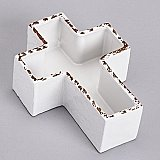 Roman Gifts 2 and a half inch Porcelain Cross Planter