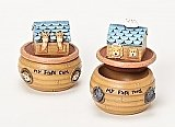 Roman Gifts  Noahs Ark First Tooth and Curl Keepsake Containers