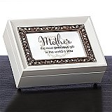 Roman Gifts Mother White Music Box